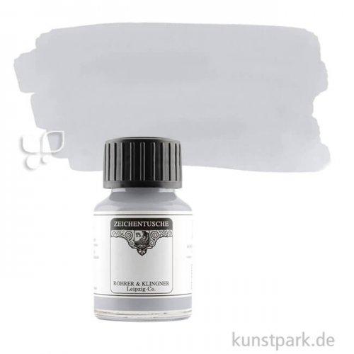 Rohrer & Klingner Zeichentusche 50 ml | 801 Silber