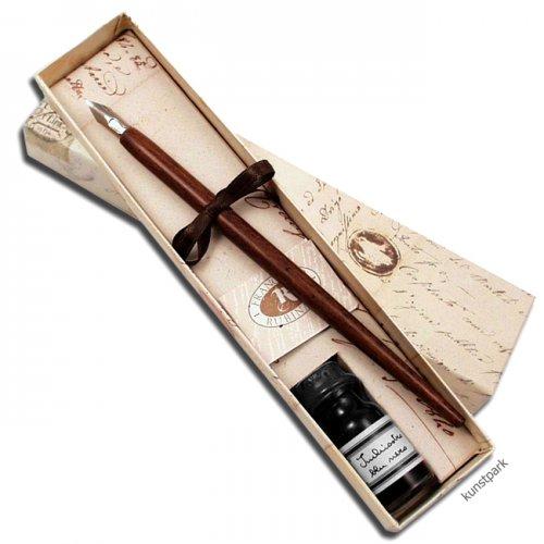 Rubinato Kalligrafie-Set, 3 teilig in schmaler Geschenkbox