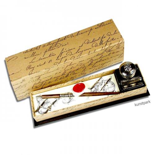 Rubinato Kalligrafie-Set, 7 teilig in Geschenkbox