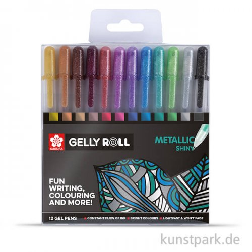 Sakura Gelly Roll Metallic 12er Set