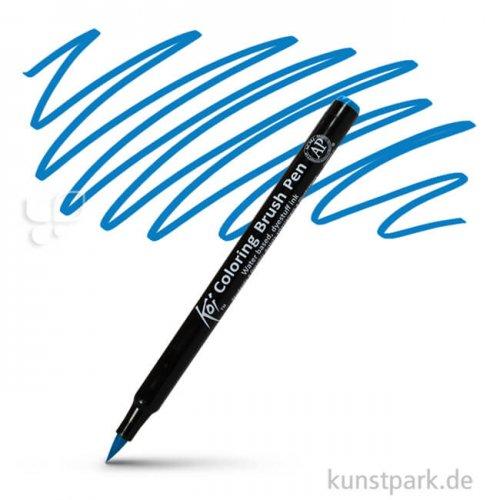 Sakura KOI Coloring Brush Pen Einzelstift   Steel Blue