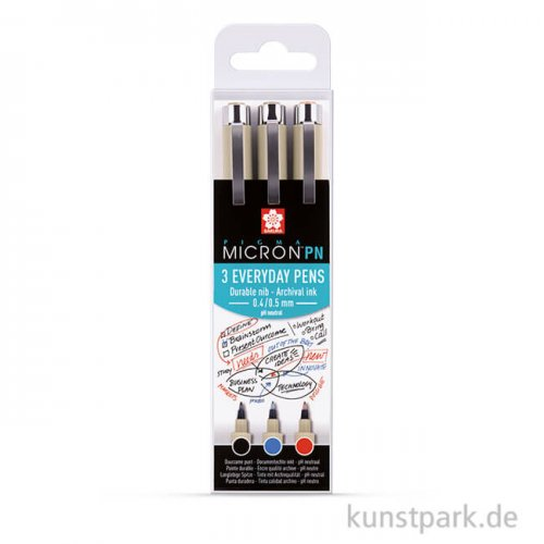 Sakura PIGMA Micron PN 3er Set - Office