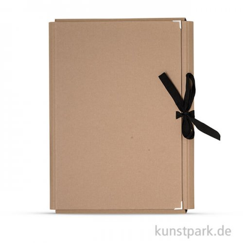 Sammelmappe Ideal aus Kraftpapier DIN A3