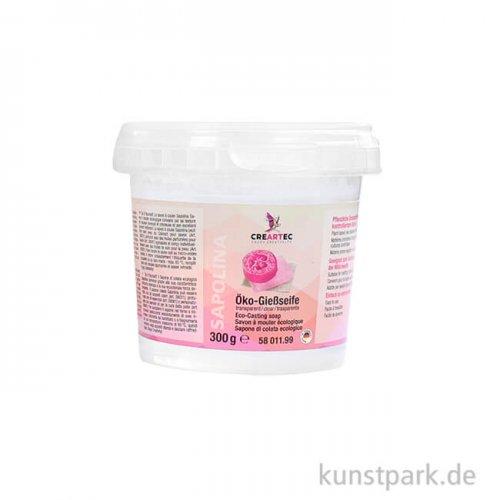 Sapolina - Öko-Seife zum Gießen, transparent 300 g