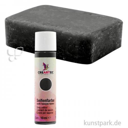 Sapolina - Seifenfarbe opak 10 ml Flasche | Schwarz