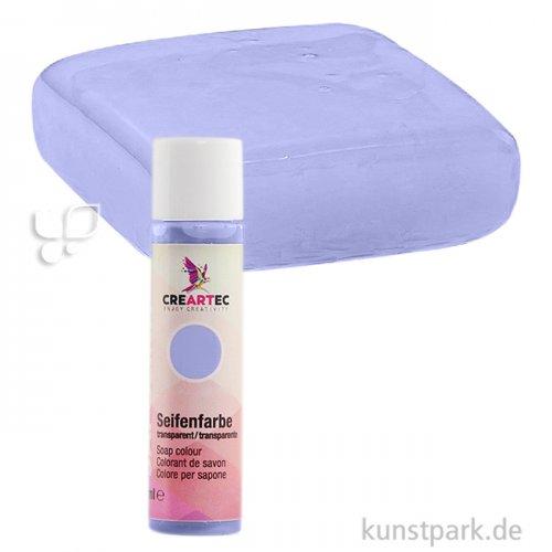 Sapolina - Seifenfarbe transparent, 10 ml Einzelfarbe | Enzian