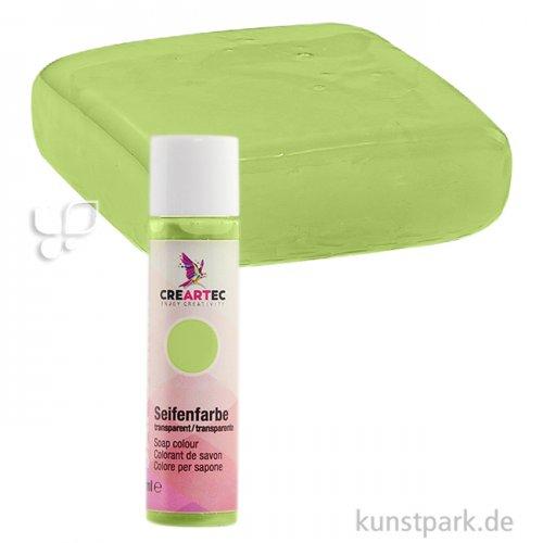Sapolina - Seifenfarbe transparent 10 ml Flasche | Lindgrün