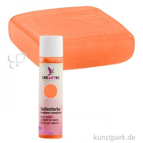 Sapolina - Seifenfarbe transparent, 10 ml 10 ml Flasche | Orange