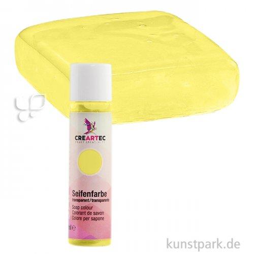 Sapolina - Seifenfarbe transparent, 10 ml Einzelfarbe | Teerose (gelb)