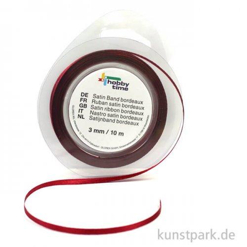 Satinband - 3 mm Breite