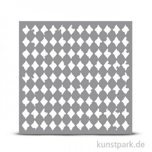 Schablone 30,5x30,5 cm - Harlequin