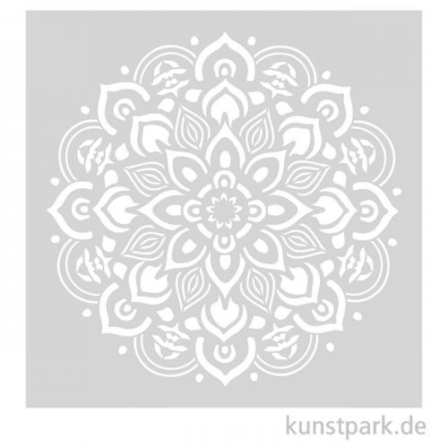 Schablone 30,5x30,5 cm - Mandala