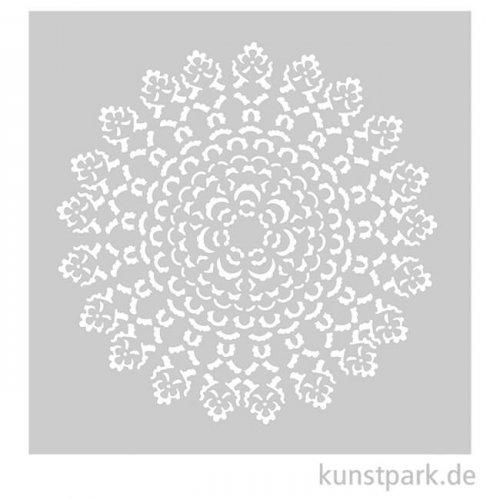 Schablone 15,25x20,32 cm - Ornament