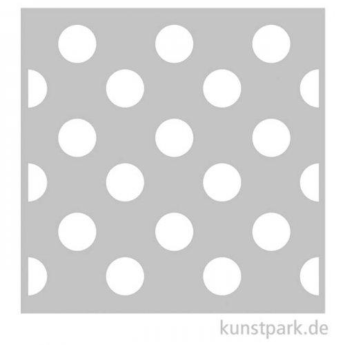 Schablone 30,5x30,5 cm - Polka Dots