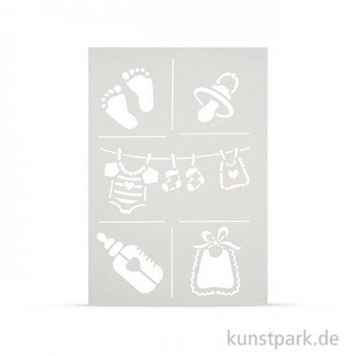 Schablone DIN A4 - Baby