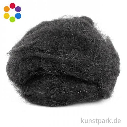 Schafwolle zum Nassfilzen 100 % Natur, 50 g