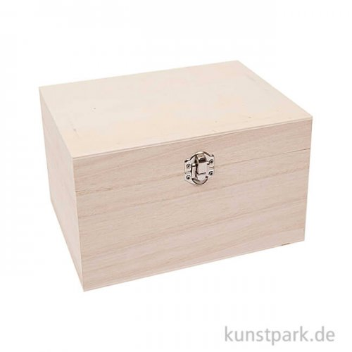 Schatulle aus Holz - Rechteckig, Klein