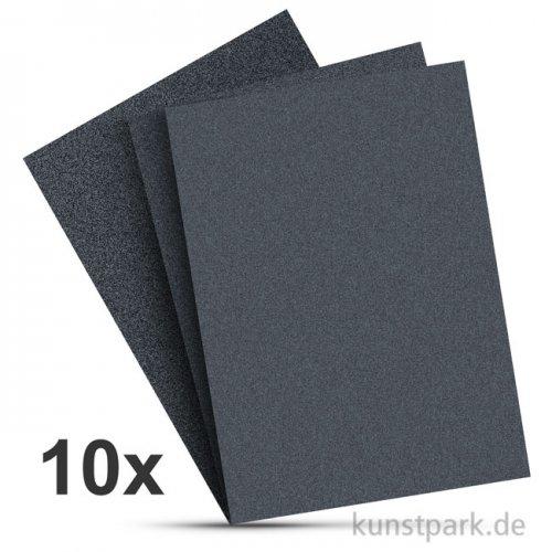 Schleifpapier Set, 10 Stück sortiert