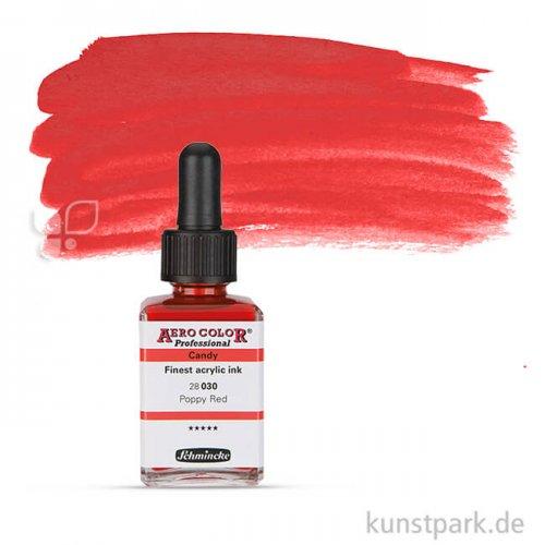 Schmincke AEROCOLOR Candy Colours 28 ml | Poppy Red