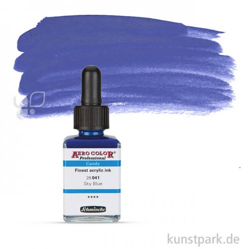 Schmincke AEROCOLOR Candy Colours 28 ml | Sky Blue