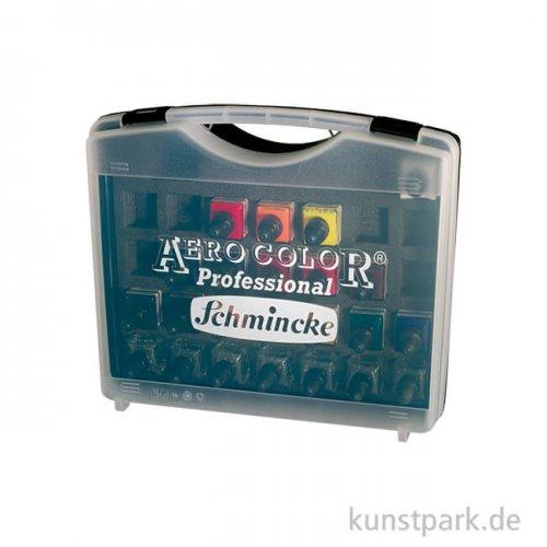 Schmincke AEROCOLOR - 16 x 28 ml Farben + 7 Leerflaschen