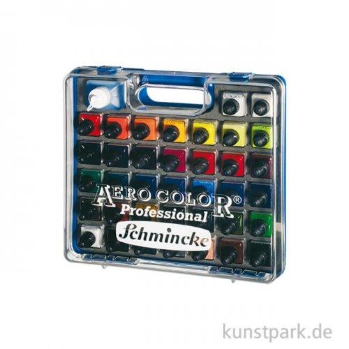 Schmincke AEROCOLOR - 37 x 28 ml Sortiment im Koffer