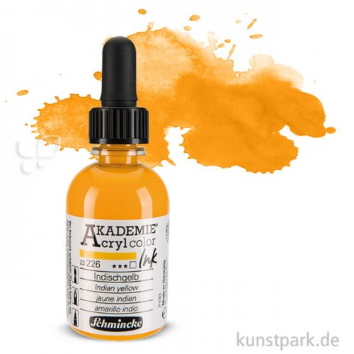 Schmincke AKADEMIE Acryl color Ink 50ml | Indischgelb