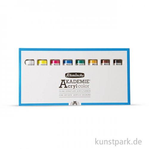 Schmincke AKADEMIE Acryl - 8 Tuben 20 ml Softpack