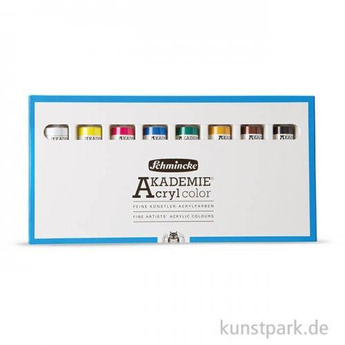 Schmincke AKADEMIE Acryl - 8 Tuben 60 ml Softpack