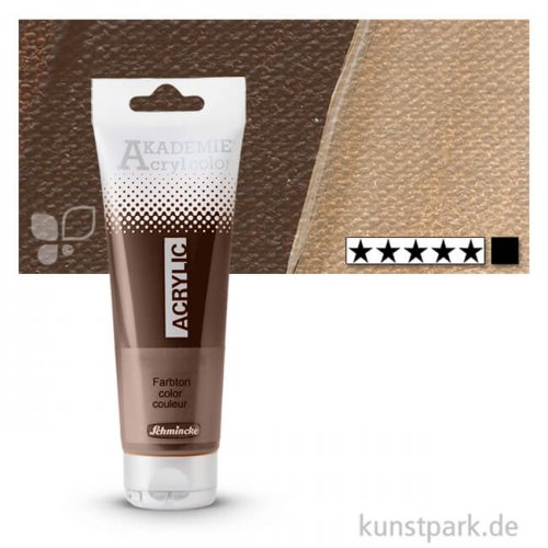 Schmincke AKADEMIE Acrylfarben 120 ml Tube | 667 Umbra natur