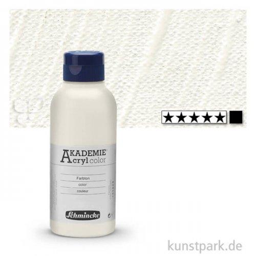Schmincke AKADEMIE Acrylfarben 250 ml Flasche | 111 Titanweiß