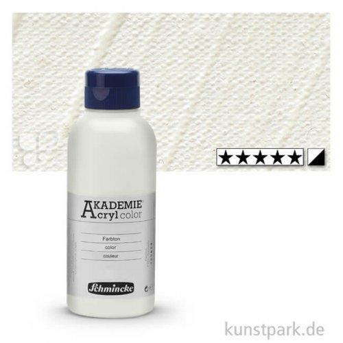 Schmincke AKADEMIE Acrylfarben 250 ml Flasche   113 Mischweiß
