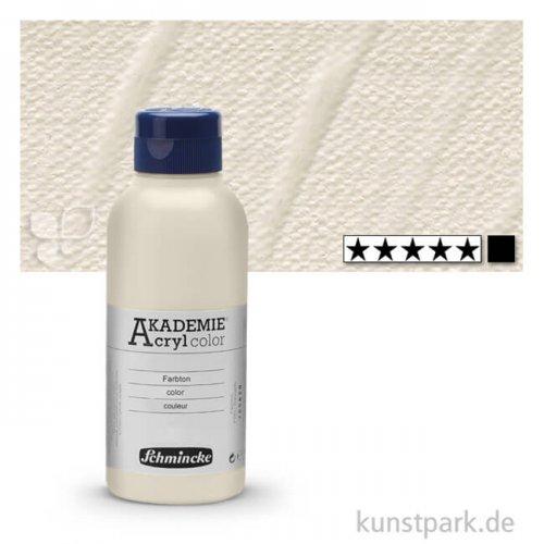 Schmincke AKADEMIE Acrylfarben 250 ml Flasche | 115 Mineralweiß