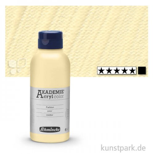 Schmincke AKADEMIE Acrylfarben 250 ml Flasche   221 Elfenbein