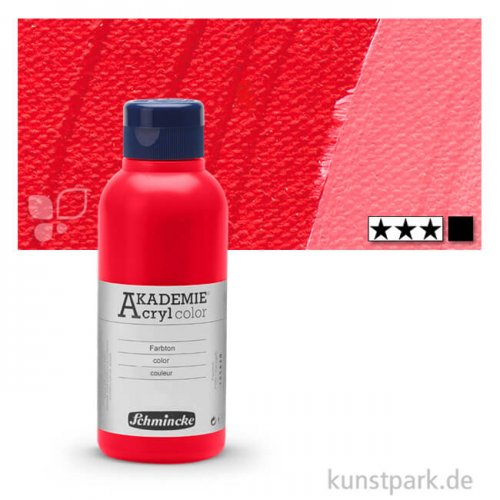 Schmincke AKADEMIE Acrylfarben 250 ml Flasche | 335 Kadmiumrotton