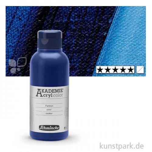 Schmincke AKADEMIE Acrylfarben 250 ml Flasche | 447 Preußischblau