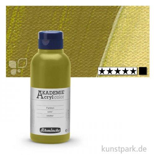 Schmincke AKADEMIE Acrylfarben 250 ml Flasche   558 Olivgrün