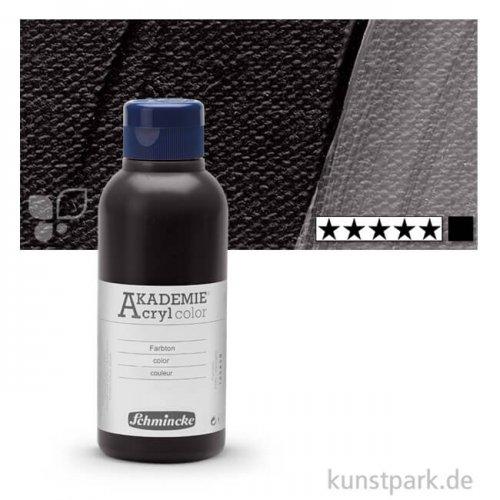 Schmincke AKADEMIE Acrylfarben 250 ml Flasche   770 Eisenoxidschwarz
