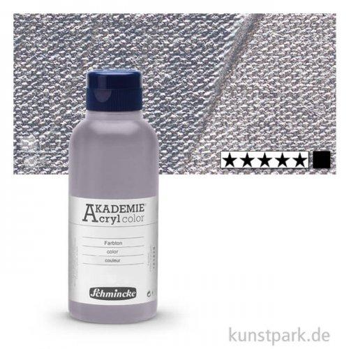 Schmincke AKADEMIE Acrylfarben 250 ml Flasche | 800 Silber