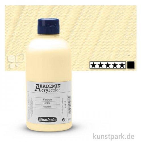 Schmincke AKADEMIE Acrylfarben 500 ml Flasche | 221 Elfenbein