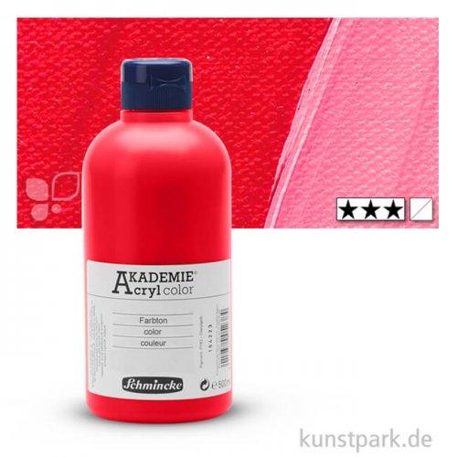 Schmincke AKADEMIE Acrylfarben 500 ml Flasche | 340 Karminrot