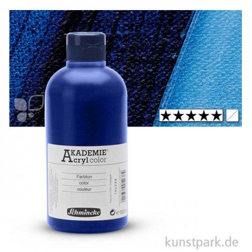 Schmincke AKADEMIE Acrylfarben 500 ml Flasche | 447 Preußischblau