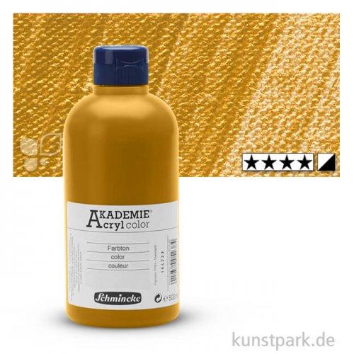 Schmincke AKADEMIE Acrylfarben 500 ml Flasche   801 Gold
