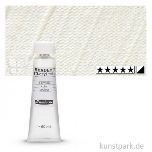 Schmincke AKADEMIE Acrylfarben 60 ml Tube | 113 Mischweiß