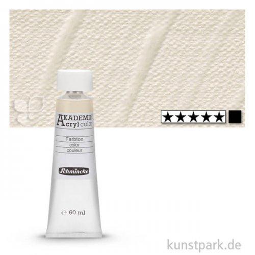 Schmincke AKADEMIE Acrylfarben 60 ml Tube | 115 Mineralweiß