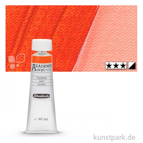 Schmincke AKADEMIE Acrylfarben 60 ml Tube   230 Orange