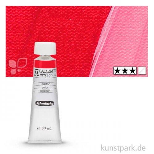 Schmincke AKADEMIE Acrylfarben 60 ml Tube   340 Karminrot