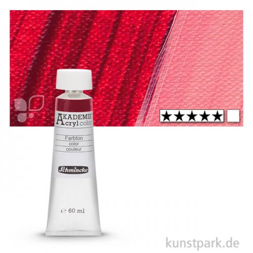 Schmincke AKADEMIE Acrylfarben 60 ml Tube | 343 Krappdunkel