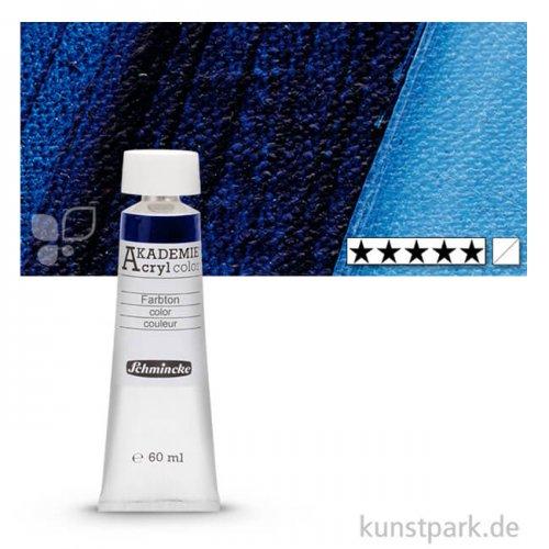 Schmincke AKADEMIE Acrylfarben 60 ml Tube | 447 Preußischblau