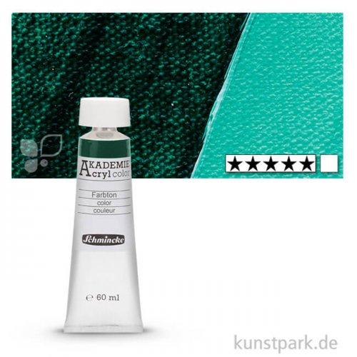 Schmincke AKADEMIE Acrylfarben 60 ml Tube | 551 Phthalogrün